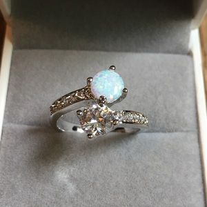 Jewelry - 925 sterling silver wedding engagement ring